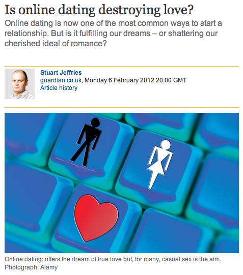 is internet dating destroying love